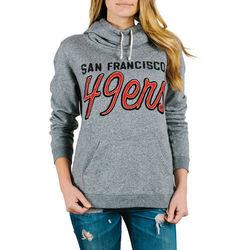 NFL San Francisco 49ers Womens' Sunday Hoody - Heather Size: Medium