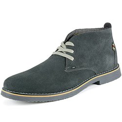 Alpine Swiss Men's Suede Lace Up Chukka Boots - Gray - Size: 9