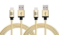 Rhino 3.3ft Micro USB Cable - Gold