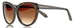 Laura Ashley Ladies Classic Cat Eye Sunglasses: Tortoise