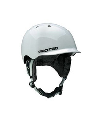 Pro Tec Riot Helmet - Snow Gloss White - Size: Medium