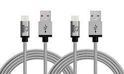 Rhino Micro USB Cable: 3.3 ft./Grey