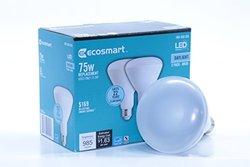 ES 1003015003 75W Equivalent BR30 LED Light Bulb - 2 PacK (ECSBR3075DL2PK)