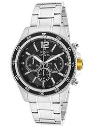 Men's Specialty Chrono SS Black Dial SS