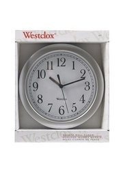 Westclock 9in Round Wall Clock (4984A) - Pack 6