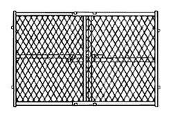 "Gateway Manufacturing 13-276-50 Mesh Pressure Safety Gate, 42"""