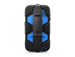 Black/Blue Survivor All-Terrain + Belt Clip for Samsung Galaxy S6