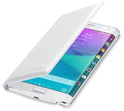 Samsung Flip Wallet for Galaxy Note Edge - White