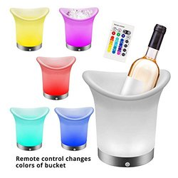Home Locomotion Color Changing LED Ice Bucket