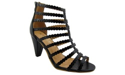 NY VIP Women's 823 Sandals - Black - Size: 7