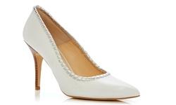 Carmen Marc Valvo Women's Shoes - Beige - Size: 7