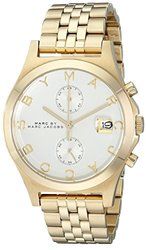 MARC BY MARC JACOBS Ladies Slim Chronograph Stainless Steel Bracelet Watch