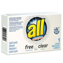 Diversey Inc. All Free Clear HE Liquid Laundry Detergent 100