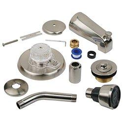 BrassCraft 1-Handle Tub & Shower Faucet Trim Kit - Satin Nickel