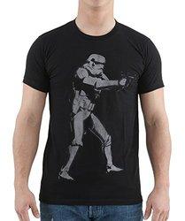 Men's Storm Trooper Tee - Black - Size: Small