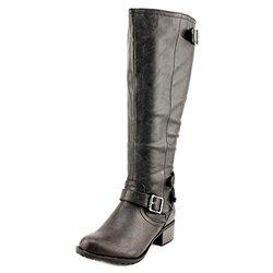 Intaglia Women's Nashville Wide Calf Boots - Black - Size: 6