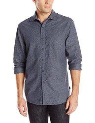 Threads 4 Thought Men's The Hampton Shirt - Blue Night - Size: Medium