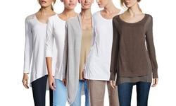 Stella Carakasi Women's Long Sleeve Play It Forward Top - White - Size: M
