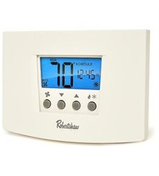 Robertshaw Digital Programmable Thermostat Heat Pump - 1 Heat/1 Cool