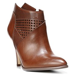 Carlos by Carlos Santana Women's Larisa Dress Booties - Cognac - Size: 10