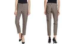 Paperwhite Women's Printed Skinny Ankle Pants - Multi - 8