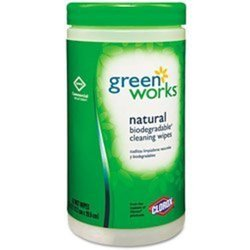 Green Works Disinfecting Wipes - Original - 62 Count