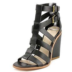 Pour La Victoire Women's Cecile Wedges - Black - Size: 8 B(M)