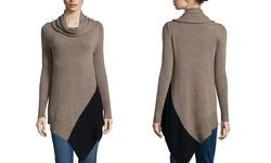 Love Token Long Sleeve Women's Jackie Sweater - Oatmeal - Small