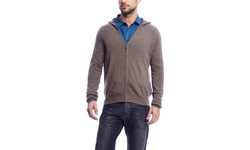 Aberdeen Cashmere Men's Sweater - Burgundy - Size: Large