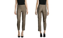 Paperwhite Printed Skinny Ankle Pant - Cashmere - Size: 10