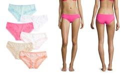 Rene Rofe Women's Separate Ways Hipsters Panties - Multi - Size: Small