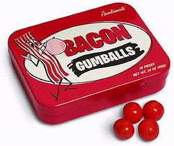 Accoutrements Bacon Gumballs - 22-Piece
