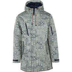 Wesc Men's Langdon Hooded Padded Jacket - Blue Iris - Size: Medium