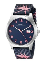 Marc By Marc Jacobs Ladies Jimmy Palm Tree Strap Watch - Blue