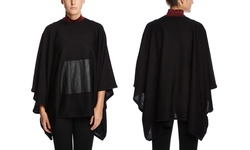 Susana Monaco Women's Margaux Cape - Black - One Size
