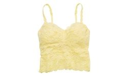 Cosabella Women's Never Say Never Shortie Cropped Cami - Citron - Size: M