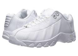 K-Swiss Women's ST329 CMF Training Shoe - White/Silver - Size: 11