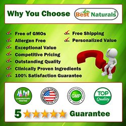 Best Naturals CoQ10 600 mg 60 Capsules