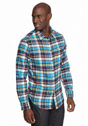 Jachs Men's Pocket Shirt - Turquoise - Size: Small