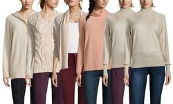 Escada Sport Women's Sulei Turtleneck Sweater - Ricepaper - Size: Small
