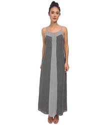 Laundry By Shelli Segal Mixed Print Maxi Dress - Black Multi - Size: 2