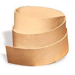 """Tandy Leathercraft Natural Cowhide Strip 50"""" L X 1/2"""" W 4569-00"""
