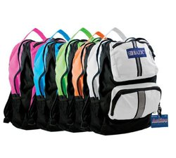 """BAZIC 17"""" Active Backpack,color may vary"""