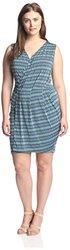 Leota Sleeveless Lizzie Dress - Lapis Lazuli - Size: 4XL
