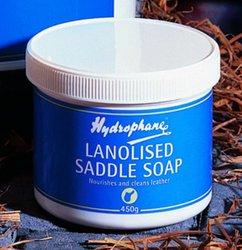 Hydrophane Lanolised Saddle Soap - 450 Gram Tub