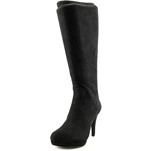 287ad049224 ... 9 Adrienne Vittadini Footwear Women s Premiere Slouch Boot - Black -  Size  ...