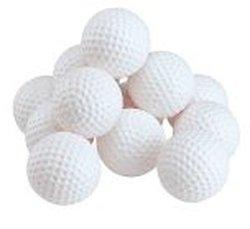 Par Classics Plastic Practice Golf Balls White