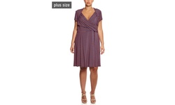 Leota Brittany Dress - Americano - Size: 3X
