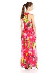 Bb Dakota Sleeveless Deklyn Floral Maxi Dress - Multi - Size: XSmall