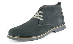 Alpine Swiss Men's Beck Suede Chukka Boots - Gray - Size: 10 D(M) US